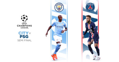Manchester City to face PSG in Champions League Semifinals