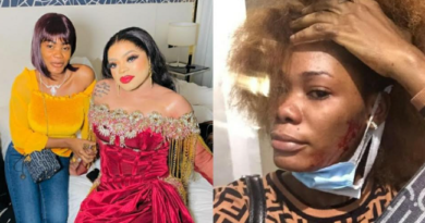 Bobrisky called out for Physical Abuse