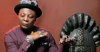 """I sleep in a coffin sometimes"""" - Charly Boy"""