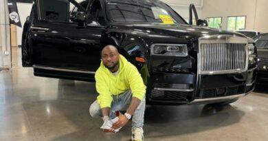 Davido acquires Latest 2021 Rolls Royce