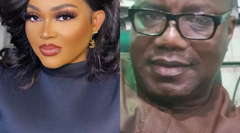 Mercy Aigbe and her ex-husband, Lanre Gentry, slam each other