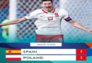 Euro 2020: Spain, Poland share the spoils