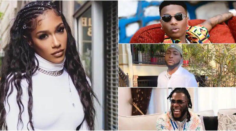 US Rapper Bia says she doesn't know what Wizkid, Burna Boy & Davido