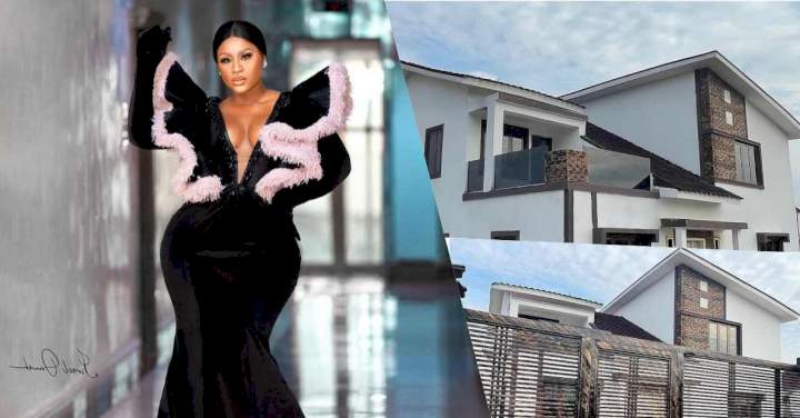 Actress Destiny Etiko gifts herself a Mansion