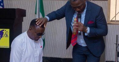 Emeka Ike gets Ordained as a Pastor