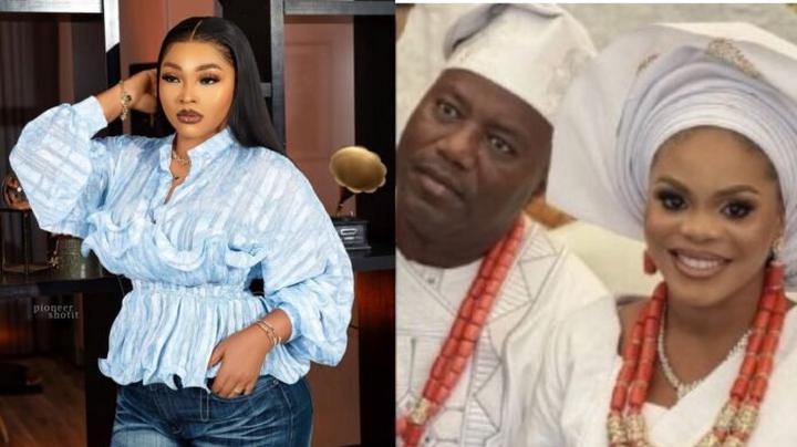 Mercy Aigbe reacts to her ex-husband