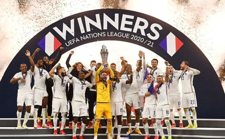 France clinch UEFA Nations League